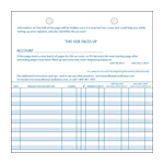 Credit Card Register - LooseLeaf 100-Pack (Checkbook Cover Size)